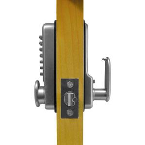 asec garage door lock fitting instructions